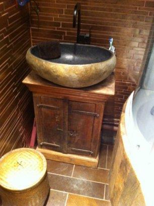 Meuble de salle de bain diy for Meuble de salle de bain style ancien