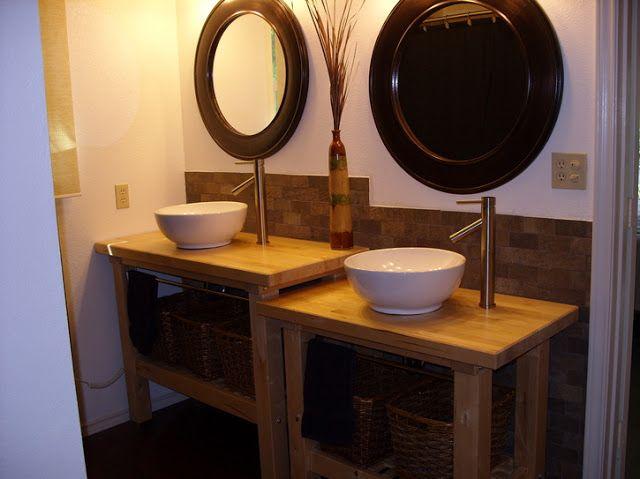 meuble de salle de bain diy. Black Bedroom Furniture Sets. Home Design Ideas