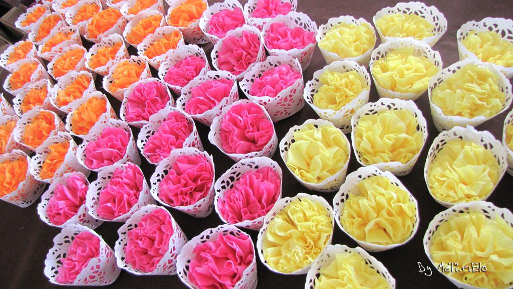 Decoration Cup Cake Fleur
