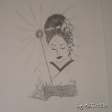 Croquis de Sayuri, Mémoires d'une Geisha