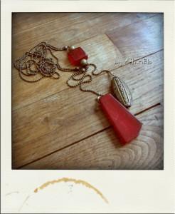 collier chaîne à billes