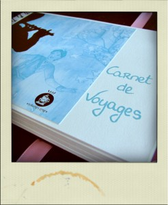 Polaroid carnet de voyage