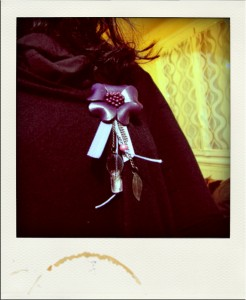Broche customisée