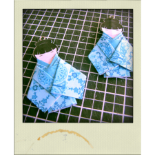 tuto BO kokeshi origami