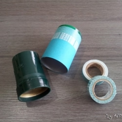Boîte cylindre customisée