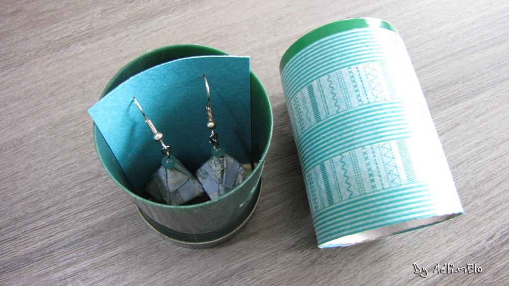 Boîte BO tube originale