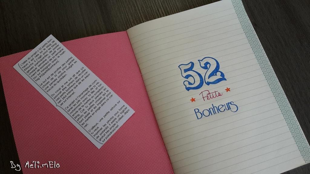 cahier 52 petits bonheurs 2
