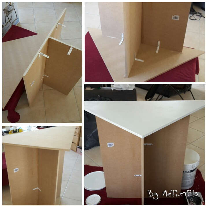 Table langer d 39 angle diy ikea hack - Table a langer dangle ...