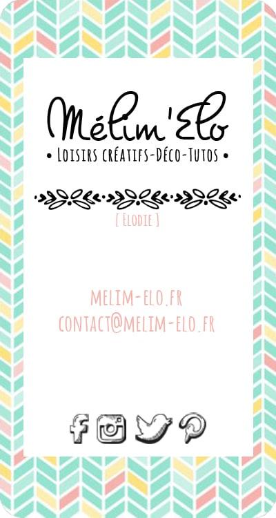 Carte de visite Mélim'Elo