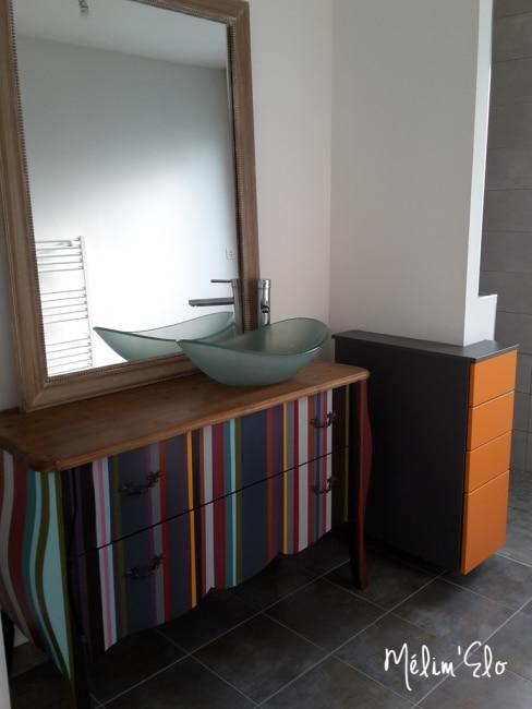 commode meuble de salle de bain diy