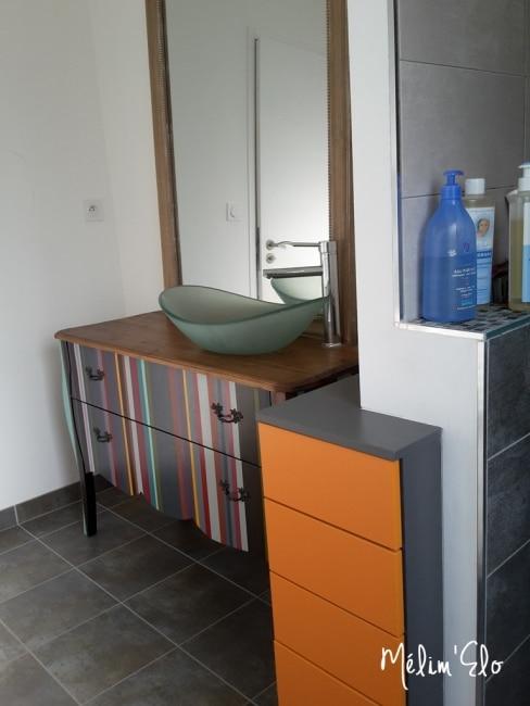 meuble salle de bain diy