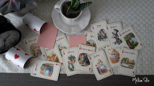 cartes alice au pays des merveilles