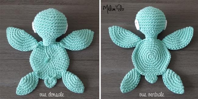 Bien-aimé Amigurumi : tuto pour une tortue géante au crochet VX54