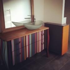 meuble vasque DIY 2